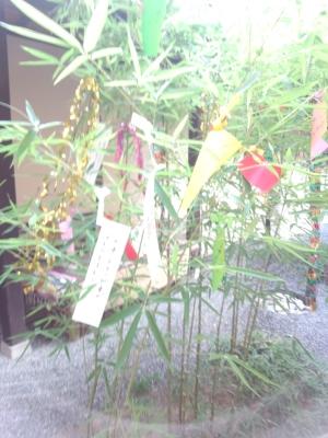 松本の七夕祭りは8月7日です!お客様が沢山の願い事を書いていますよ~!