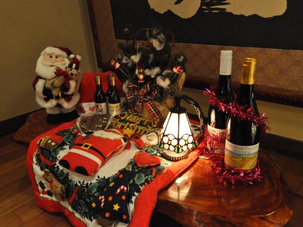 今年もサンタさん達がお待ちしております。旬の夕食一例(2015年12月11日の巻)