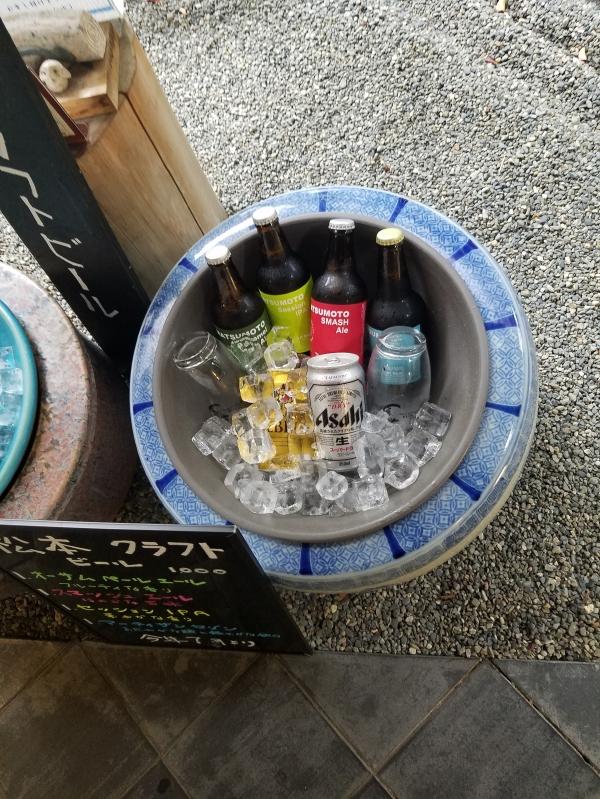 この夏から地元のクラフトビール4種類が出来ました❗