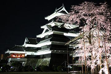 第21回 国宝松本城「夜桜会」